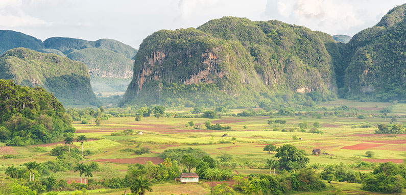 View of the Vinales Valley, Cuba