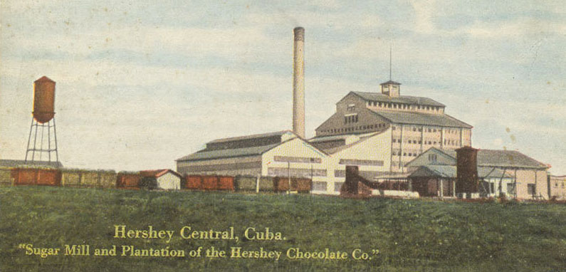 Hershey Central, Cuba. Sugar Mill and Plantation of Hershey Chocolate Co.